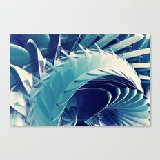Space Abstract  Canvas Print
