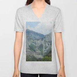 Telluride Mountains Unisex V-Neck
