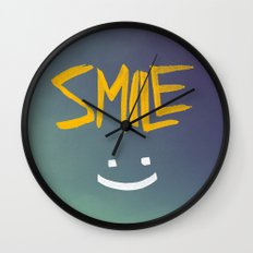 Smile (: Wall Clock