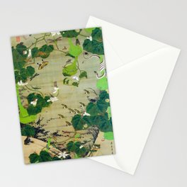 Ito Jakuchu - Pond Insects - Digital Remastered Edition Stationery Cards