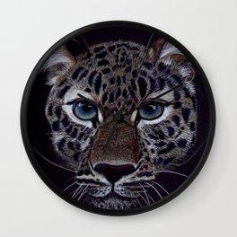 Amur Leopard Wall Clock