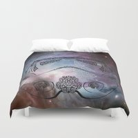 storm Duvet Covers featuring storm  by Vickn