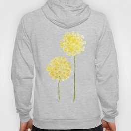 two abstract dandelions watercolor Hoody