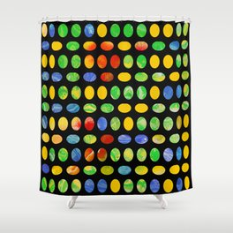 Jelly Beans Shower Curtain