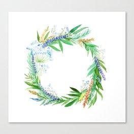Wreath of joy! Canvas Print