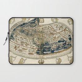 World Map 1482 Laptop Sleeve