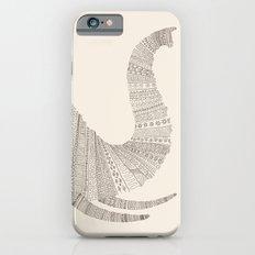 Elephant (On Beige) Slim Case iPhone 6s