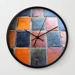 Royal Tiles  Wall Clock