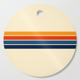 Classic Retro Stripes Cutting Board
