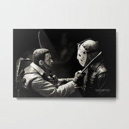 Dutch vs Jason Metal Print