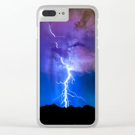 Monsoon Trippin Clear iPhone Case