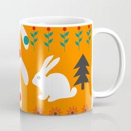 Sweet Christmas bunnies Coffee Mug