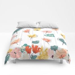 Wild Beauty Saffron Comforters