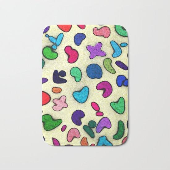 Seamless Colorful Geometric Pattern XXIX Bath Mat