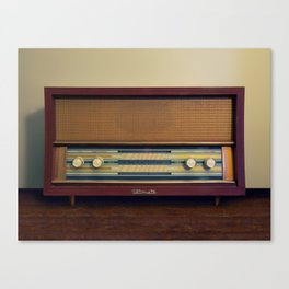 Ultimate retro radio Canvas Print