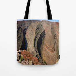 The Goosnecks - A Meander Of The San Juan River Tote Bag