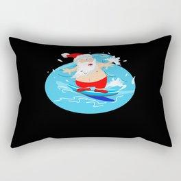 Australian Christmas, surfing, beer Rectangular Pillow