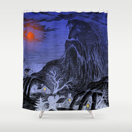 The Winter King Shower Curtain