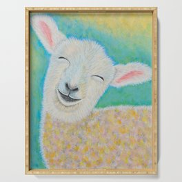 Happy Lamb Serving Tray