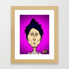 Matthew Bellamy Framed Art Print