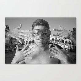 Venezian Carnival Canvas Print