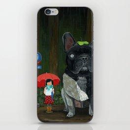 """""""My French Bull Chubu""""  iPhone Skin"""