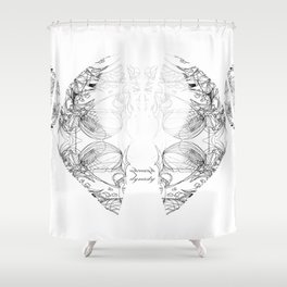 Amalgam Shower Curtain