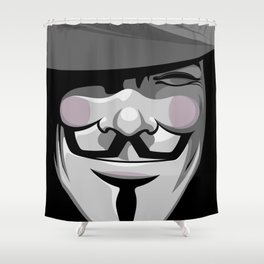 Vendetta Shower Curtain