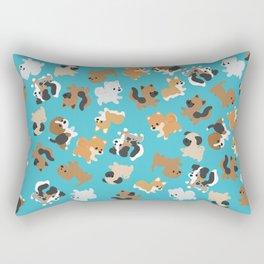 Dogs Galore Rectangular Pillow