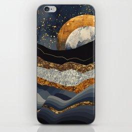 Metallic Mountains iPhone Skin