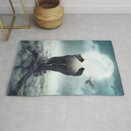 Guide You Through the Darkness Rug