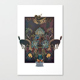 Alchemical Western  Canvas Print