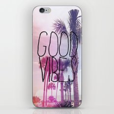 good vibes 2 iPhone & iPod Skin