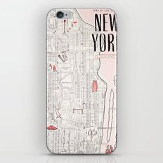 Kate Spade - New York Map iPhone & iPod Skin