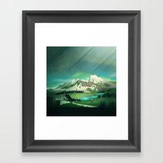 Alpine Enchantment Framed Art Print