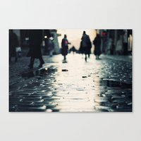 shopping Canvas Prints featuring Shopping by Erik Witsoe Photography