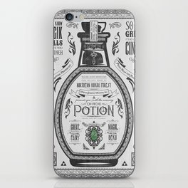 Legend of Zelda Green Chu Potion Advertisement iPhone Skin