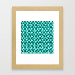 Scale Away with Me Framed Art Print