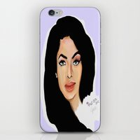 aaliyah iPhone & iPod Skins featuring Aaliyah remembered  by Catheriney
