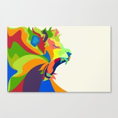 Like the Jungle Canvas Print