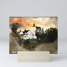 Pt. Iroquois Lighthouse Mini Art Print