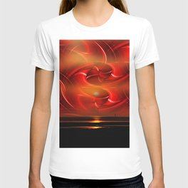 Abstract perfection - Sunst T-shirt