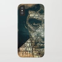 scarface iPhone & iPod Cases featuring Scarface by Diego Tirigall