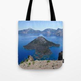 Crater Lake Volcanic Crater Oregon USA Tote Bag