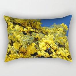 Australian Golden Wattle Rectangular Pillow