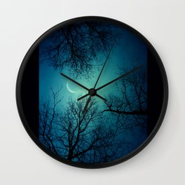 Goodnight And Goodbye Wall Clock