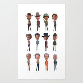 Clint Art Print