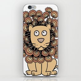 A Lion's Mane yellow iPhone Skin