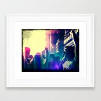concert Framed Art Prints featuring Concert by GB Street