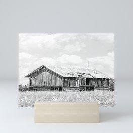 Saluda Barn No. 15 B&W Mini Art Print